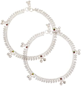 Beadworks Anklets For Women