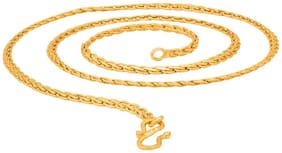 Beadworks Designer Wedding Collection Gold Plated Chain