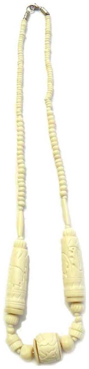 Beadworks White Necklace