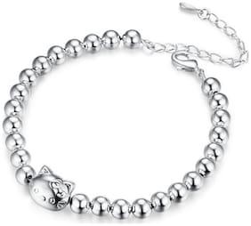 Beautiful Adorable Kitty Cat Bracelet For Women & Girls