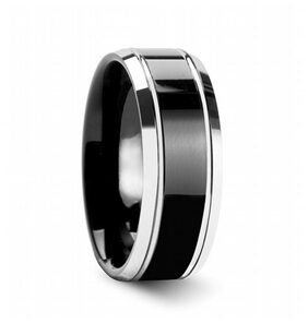 Black Thumb Ring