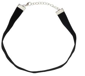 Black Velvet Tattoo Choker Necklace