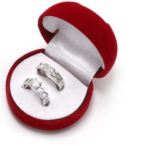 Adjustable Couple Rings for lovers in Silver valentine gift & proposal ring