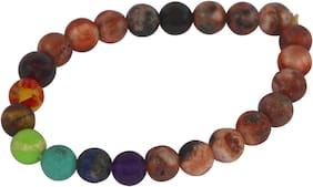 Brahmatells Fire Agate Bracelet For Men & Women