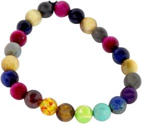 Brahmatells Cat's Eye Bracelet With 7 Chakra For Men & Women