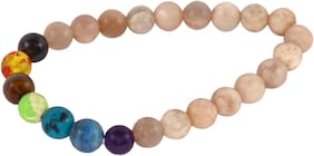 Brahmatells Moon Stone Bracelet For Men & Women