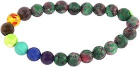 Brahmatells Ruby Joscite Bracelet For Men & Women