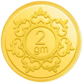 Candere By Kalyan Jewellers 2 g 24k (999) Yellow Gold Precious Coin