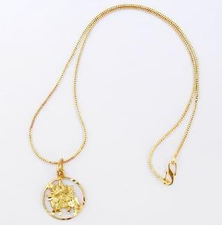 Buy chain pendant sherawali maa kali durga maa gold plated locket chain pendant sherawali maa kali durga maa gold plated locket jewelry set for womens girls children aloadofball Image collections