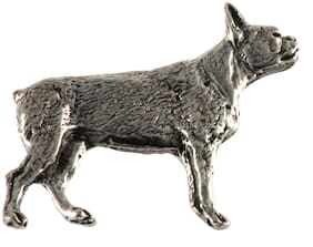 Creative Pewter Designs Boston Terrier Dog Lapel Pin or Magnet, D334F