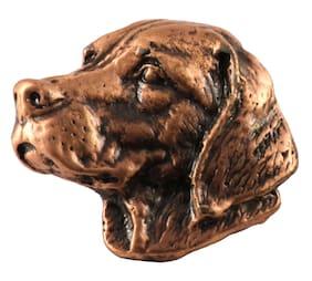 Pewter Labrador Retriever Dog Head Lapel Pin or Fridge Magnet, D112, Made in USA