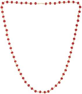 ESG Daily wear Maroon Colour Mattar Malla for Women.(size 24  inch}