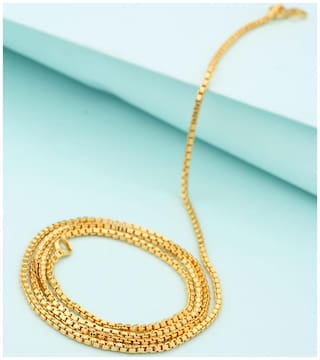 Dare by Voylla Men's Gold Plated Chain