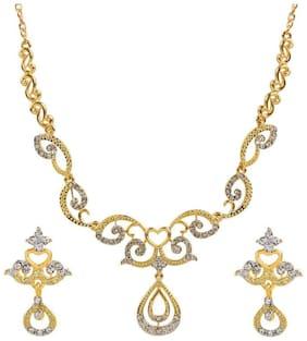 Dg Jewels Elegant Necklace Set-CNS9318