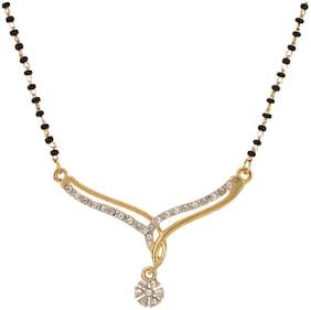Dg Jewels Glittering AD Mangalsutra-CMS7110