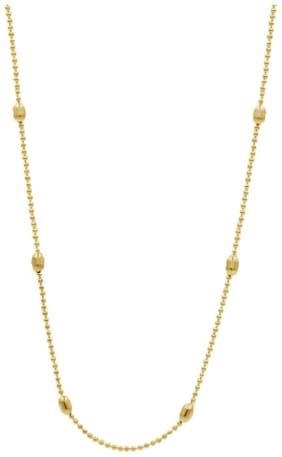 Dolly Jewels Yellow Beads Waist Chain For Women