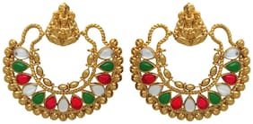 Donna Donna Crystal Dangle & Drop Earring For Women ER30031G