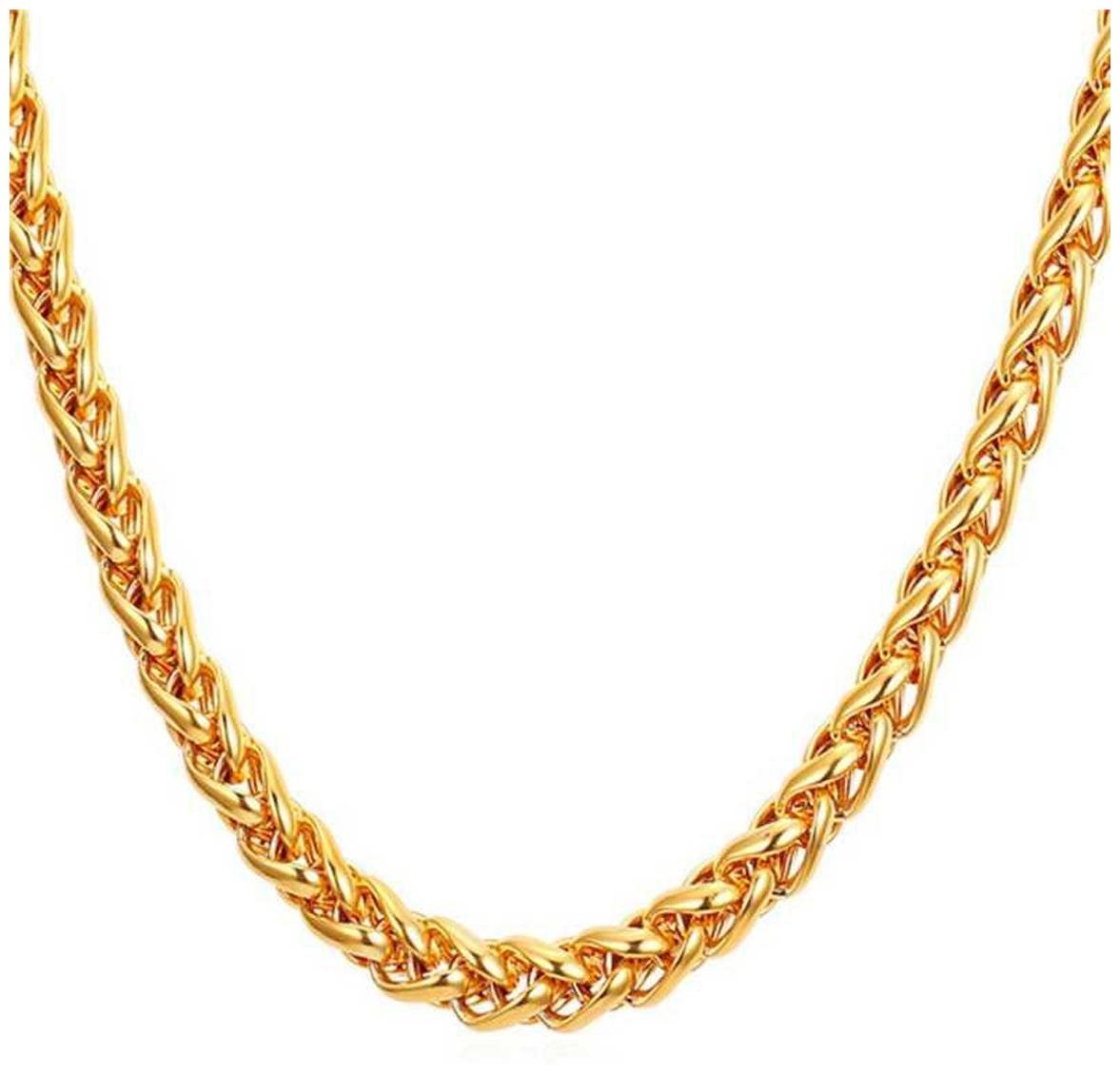 Elegant Statement top trending party wear Gold-plated Brass Chain