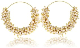 Embroco Gold Plated Earrings for Girls and Women