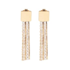 Etnico Women Alloy Drop earring - Set of 2