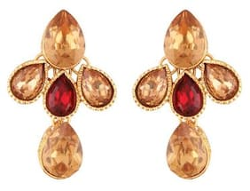 Etnico Gold Plated Designer Earrings for Women