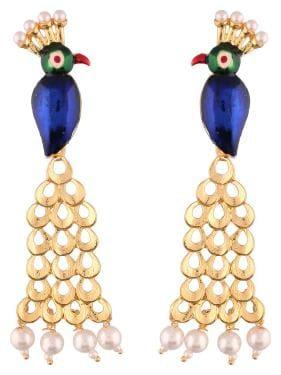Etnico Gold Plated Designer Earrings for Women