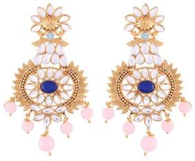 Etnico Women Alloy Dangle earring - Set of 2
