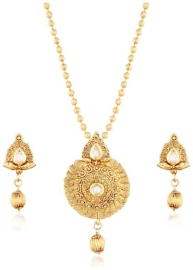 f862145be667f Pendant Set - Gold, Diamond,Designer Pendant Sets for Women at Best ...