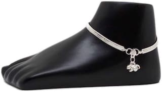 Fashion Diva Party wear precious beautiful Metal Golden Anklet