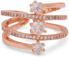 Rose Gold Alloy Ring