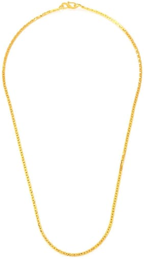Gold Nera Simple Nice Traditional Gold Looking Artificial Women Thin Chain For Girls & Women
