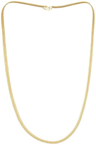 Gold Plated Simple Stylic Chain  for Men