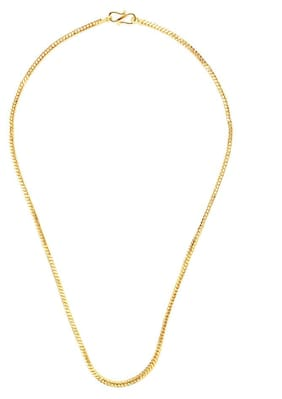 Gold Plated Plain Chain