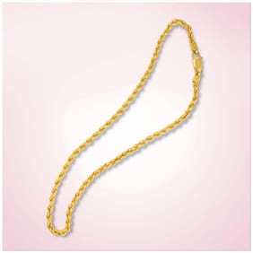 Gold Plated Round Chain
