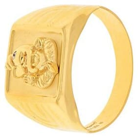 GOLDEN GANPATI RING