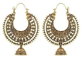 Grand Jewels Golden Earings
