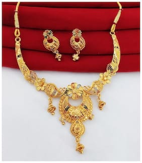 Halltree Fashionable Necklace Set with Earrings