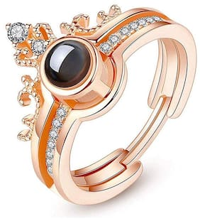 Heer Collection Adjustable Ring for Women