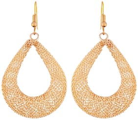 I Jewels High Gold Plated Fashion Earrings for Women (E2445FL)