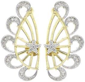 JDX American Diamond Earcuffs for Gilrs and Women