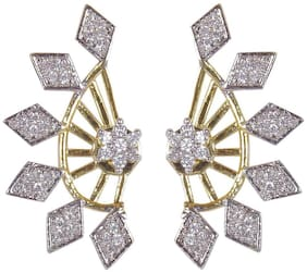 JDX American Diamond Earcuffs