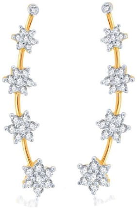 JDX American Diamond Earcuffs