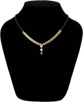 JDX Gold Plated Traditional Mangalsutra For Girl & women