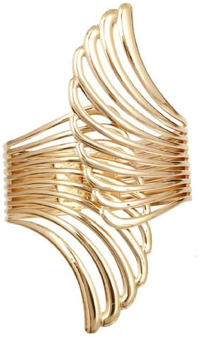 JDX Gold Plated Hand Cuff for Girls and Women