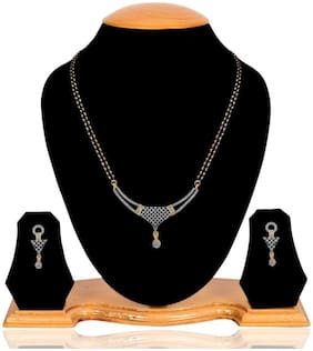 Alloy Gold Temple Mangalsutra