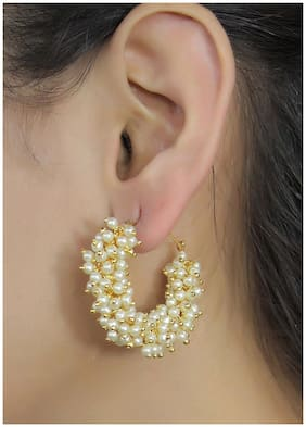 JDX Gold Plated Earrings for Girls and Women