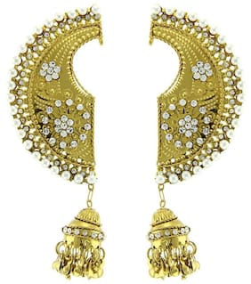 JDX Gold Plated Earcuffs for Women