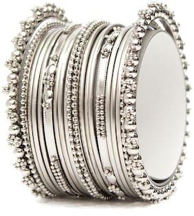 Silver Alloy Bangle
