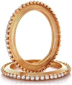 Jewels Galaxy Royal Style Stunning Kundan Bangles