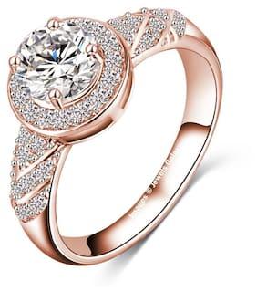 White Copper Ring